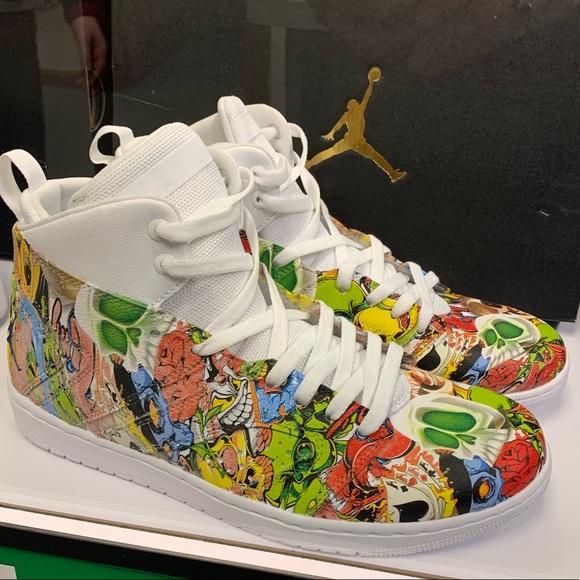 Of Kind Hydrographic Custom Jordans New